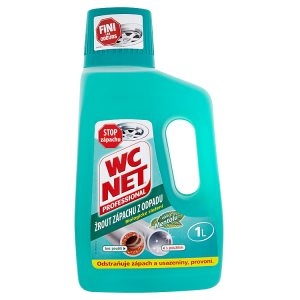 WC Net Professional Žrout zápachu z odpadu vůně mentolu 1l