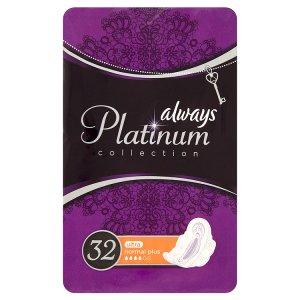 Always Platinum Collection Hygienické vložky normal plus 32 ks