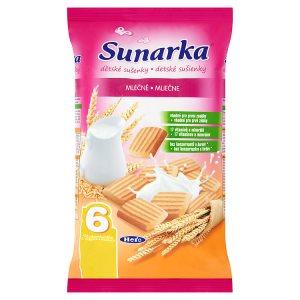 Sunarka Dětské mléčné sušenky 175g Terno