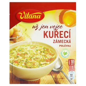 Vitana Už jen vejce instantní polévka, vybrané druhy