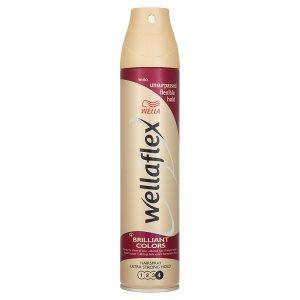 Wella Wellaflex Brilliant colors lak na vlasy pro ultra silné zpevnění 250ml Billa