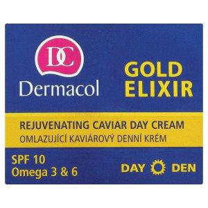 Dermacol Gold elixir omlazující kaviárový denní krém 50ml Prima Drogerie