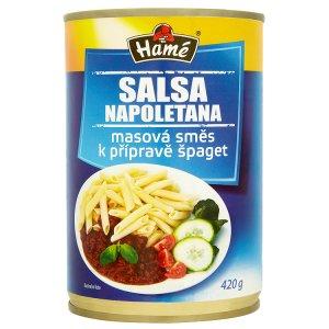 Hamé Salsa Napoletana masová směs na přípravu špaget 420g