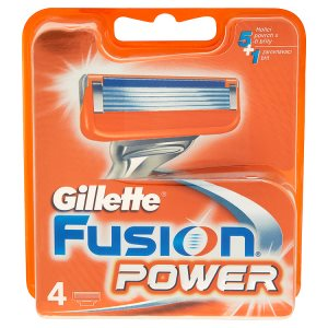 Gillette Fusion Power náhradní hlavice do holicího strojku 4 ks Prima Drogerie