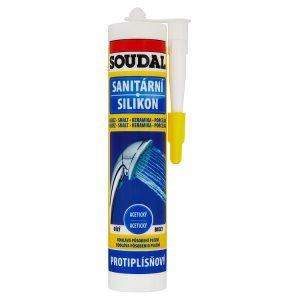 Soudal Sanitární silikon bílý 300ml