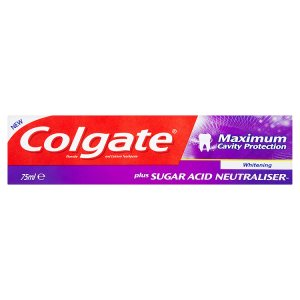 Colgate Maximum Cavity Protection zubní pasta 75ml, vybrané druhy Tesco