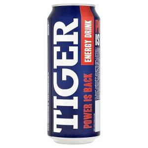 Tiger Energy drink 500ml, vybrané druhy