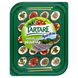 Tartare Jednohubky provensálské koření měkký sýr 100g