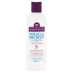 Aussie Miracle Moist Shampoo 300ml Globus