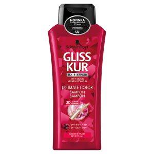 Gliss Kur Ultimate Color šampon pro barvené vlasy 400ml