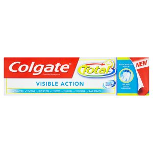 Colgate Total Visible action zubní pasta 75ml Ráj drogerie