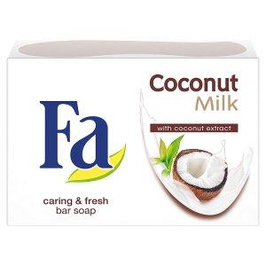 Fa tuhé mýdlo Coconut Milk 90g Ráj drogerie