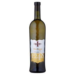 Templářské Sklepy Čejkovice Chardonnay víno bílé polosuché 0,75l