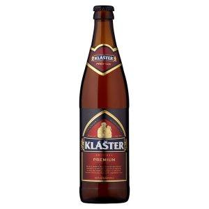 Klášter Premium Pivo světlý ležák 0,5l v akci