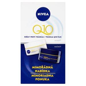 Nivea Q10 Plus Krémy proti vráskám denní a noční 2 x 50ml Teta drogerie