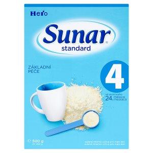 Sunar Standard 4 sušená mléčná výživa pro malé děti 2 x 250g