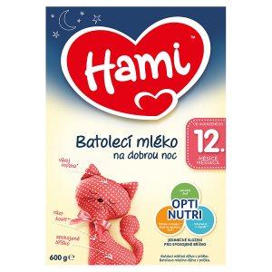 Hami Batolecí mléko na dobrou noc 12+ 600g Globus
