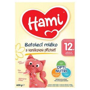 Hami Batolecí mléko s vanilkovou příchutí 12+ 600g