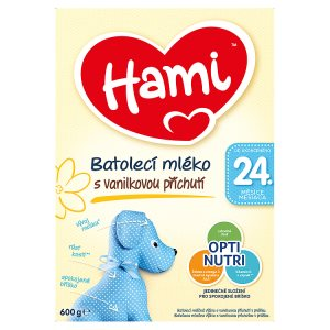 Hami Batolecí mléko s vanilkovou příchutí 24+ 600g Tesco
