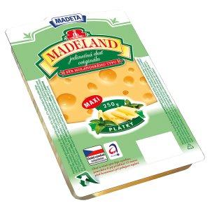 Madeta Madeland MAXI plátky 250g, vybrané druhy