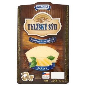 Madeta Tylžský sýr 45% plátky 100g