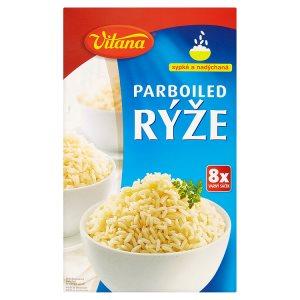 Vitana Parboiled rýže 8 x 100g