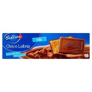 Bahlsen Choco Milk máslové sušenky polomáčené v mléčné čokoládě 125g