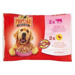 Propesko kapsička pro psy 4 x 100g