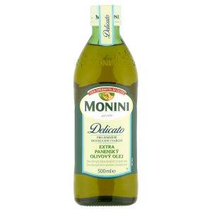 Monini Delicato extra panenský olivový olej 500ml