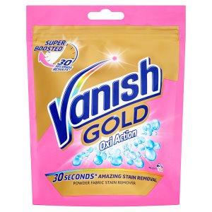 Vanish Oxi Action Gold odstraňovač skvrn 10 praní 300g Prima Drogerie