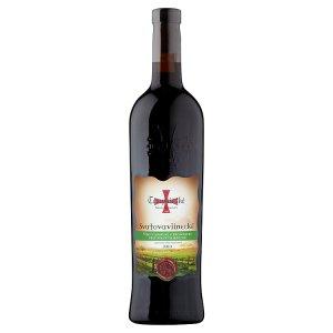 Templářské Sklepy Čejkovice Bio Svatovavřinecké 2010 jakostní odrůdové červené suché víno 0,75l