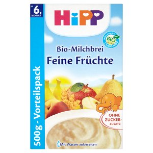 HiPP Bio mléčnoobilná kaše 500g, vybrané druhy ROSSMANN