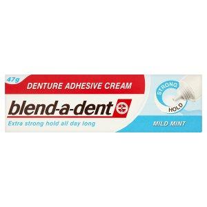 Blend-A-Dent Mild Mint fixační krém na zubní náhradu extra silný 47g TOP drogerie
