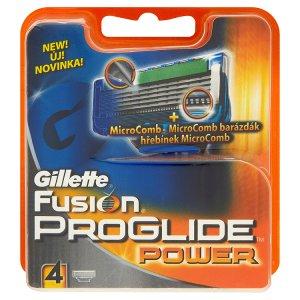 Gillette Fusion Proglide power náhradní hlavice do holicího strojku 4 ks