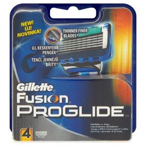Gillette Fusion Proglide náhradní hlavice do holicího strojku 4 ks Prima Drogerie