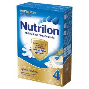Nutrilon mléčná kaše rýžová 225g