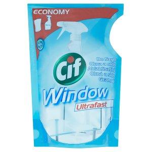 Cif Okna a sklo ultrafast tekutý čisticí přípravek náhradní náplň 750ml