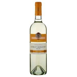 Zámecké Vinařství Bzenec Cellarium Bisencii Muškát moravský suché bílé víno 75cl