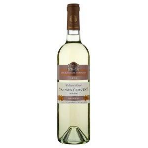 Zámecké Vinařství Bzenec Cellarium Bisencii Tramín červený suché bílé víno 75cl