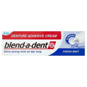 Blend-A-Dent Fresh Mint fixační krém na zubní náhradu extra silný 47g ROSSMANN