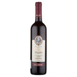 Šlechtitelská Stanice Vinařská Ch. C. André Zweigeltrebe pozdní sběr suché víno 0,75l