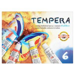 KOH-I-NOOR Temperové barvy v tubě 6 x 16ml