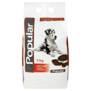 Popular Kompletní krmivo pro psy s hovězím 3kg