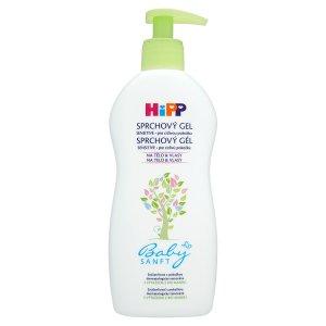 HiPP Babysanft Sprchový gel s výtažkem z bio mandlí pro citlivou pokožku 400ml Terno