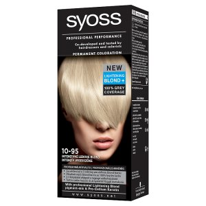 Syoss Color Barva na vlasy, vybrané druhy Tesco