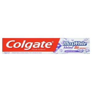 Colgate Max White Shine Zubní pasta 75ml ROSSMANN