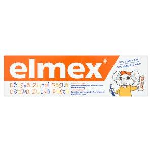 Elmex Dětská zubní pasta s aminfluoridem 0 - 6 let 50ml Teta drogerie
