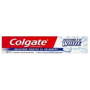 Colgate Advanced Whitening Zubní pasta 75ml Teta drogerie