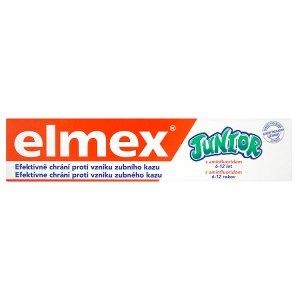 Elmex Junior Zubní pasta s aminfluoridem 6-12 let 75ml Šlak
