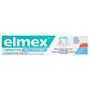 Elmex Sensitive Whitening Zubní pasta s aminfluoridem 75ml Tesco